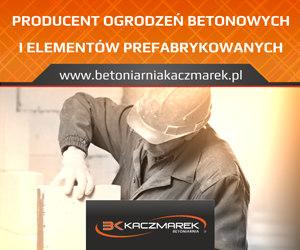 Betoniarnia Kaczmarek - Producent Ogrodzeń Betonowych i Prefabrykatów